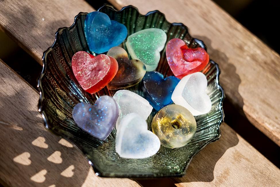 DIY Seife selber machen Geschenk Abschiedsgeschenk für Kidnergarten