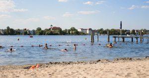Schöne Badestellen in und um Potsdam
