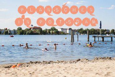 Badestelle Potsdam sommer