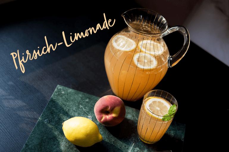Pfirsich Limonade Rezept