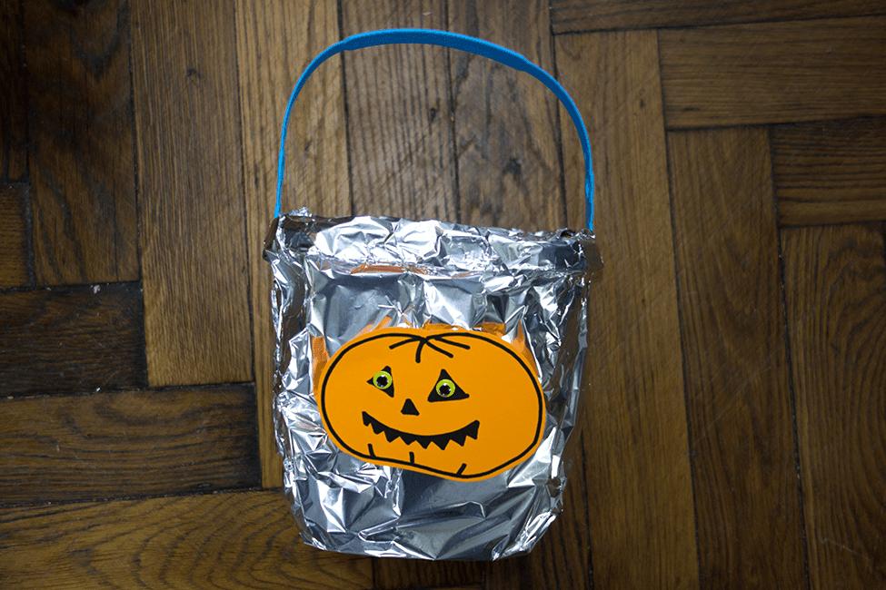 Halloween Süßigkeiten Eimer Gefäß