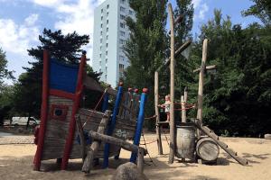 Spielplatz Potsdam sommerferien