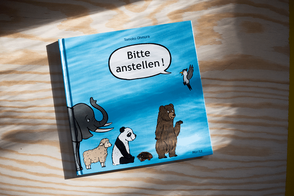 Buch zum 3. Geburtstag: Bitte anstellen!