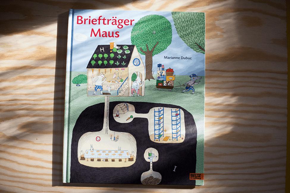 Buch zum 3. Geburtstag: Briefträger Maus