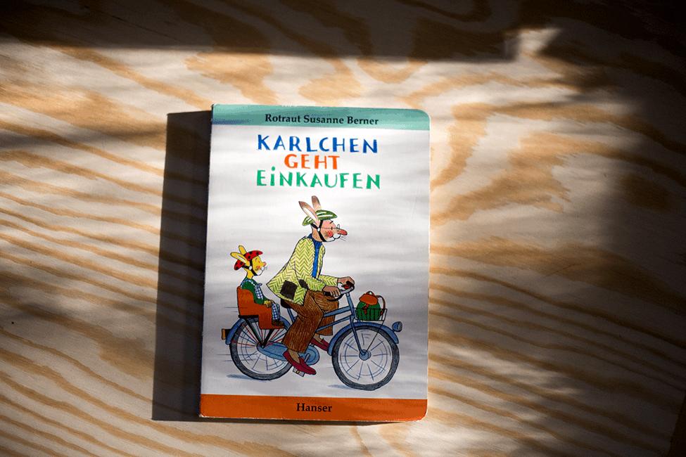 Buch zum 3. Geburtstag: Karlchen geht einkaufen
