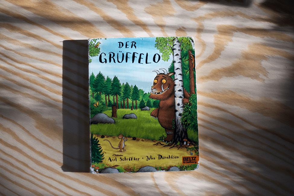 Buch zum 3. Geburtstag: Der Grüffelo
