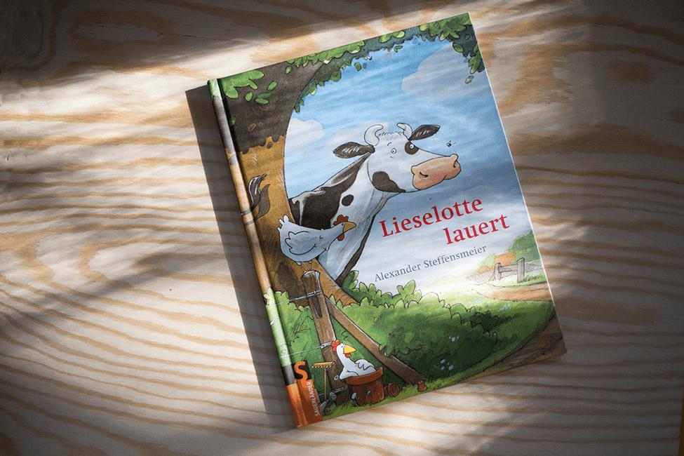 Buch zum 3. Geburtstag: Lieselotte lauert