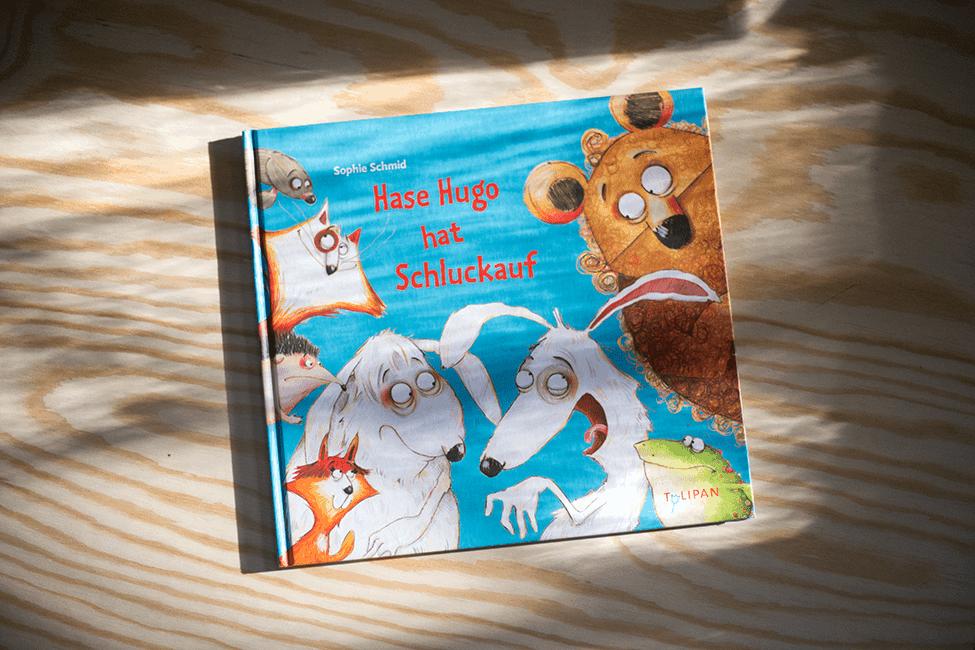 Buch zum 3. Geburtstag: Hase Hugo hat Schluckauf