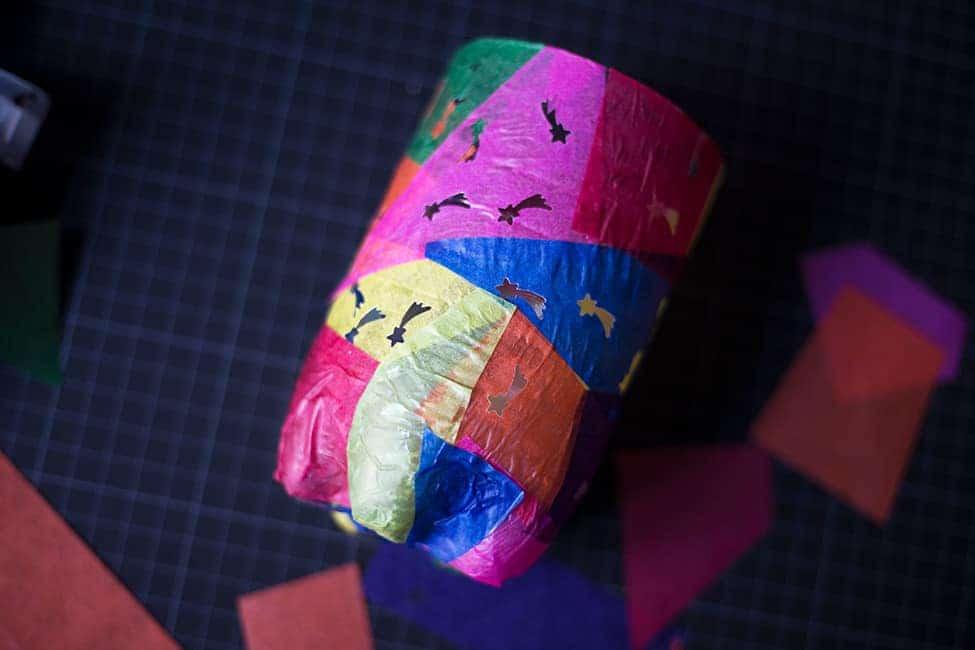 Upcycling Laterne basteln mit Kindern