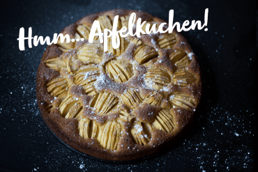 Rezept Apfelkuchen Backen mit Kindern