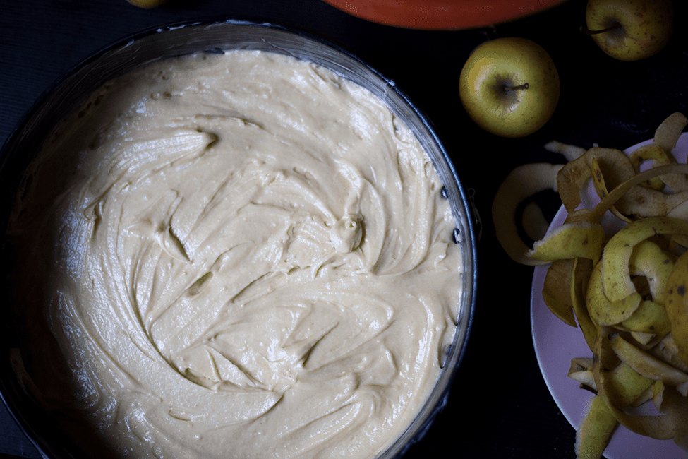 Rezept einfacher Apfelkuchen backen