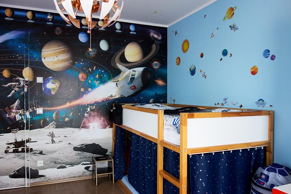 Unser Kinderzimmer als Weltraum-Abenteuer! – POLA I Entdecke das ...
