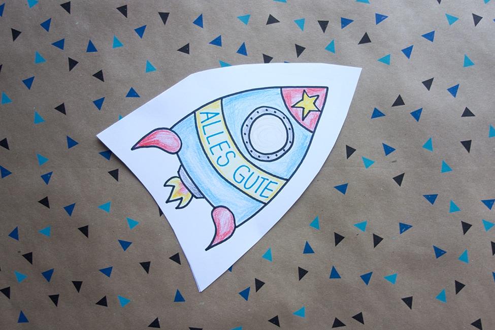 Weltraum Weltall Geburtstag
