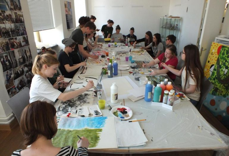 Potsdam Museum Workshop Schule
