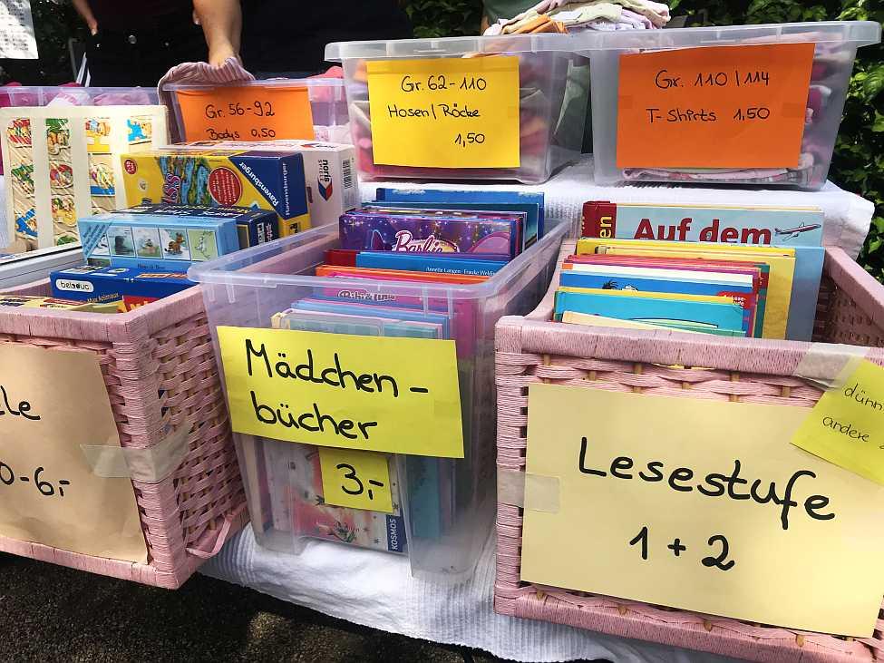Flohmarkt Potsdam Kinderflohmarkt Wasserspielplatz Klaistow