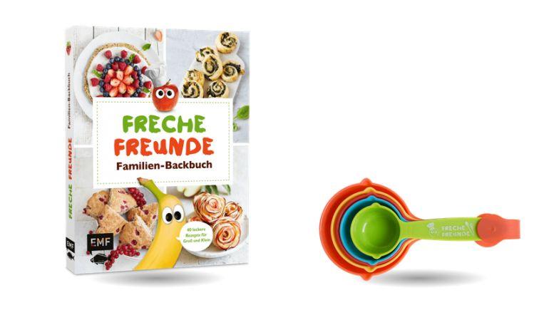 Freche Freunde Backbuch