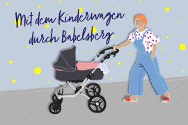 Kinderwagentour durch Babelsberg Potsdam