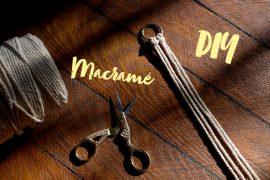 makramee macrame schlüsselanhänger diy tutorial anleitung