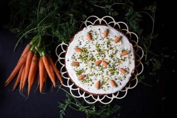 Karottenkuchen Rezept Ostern