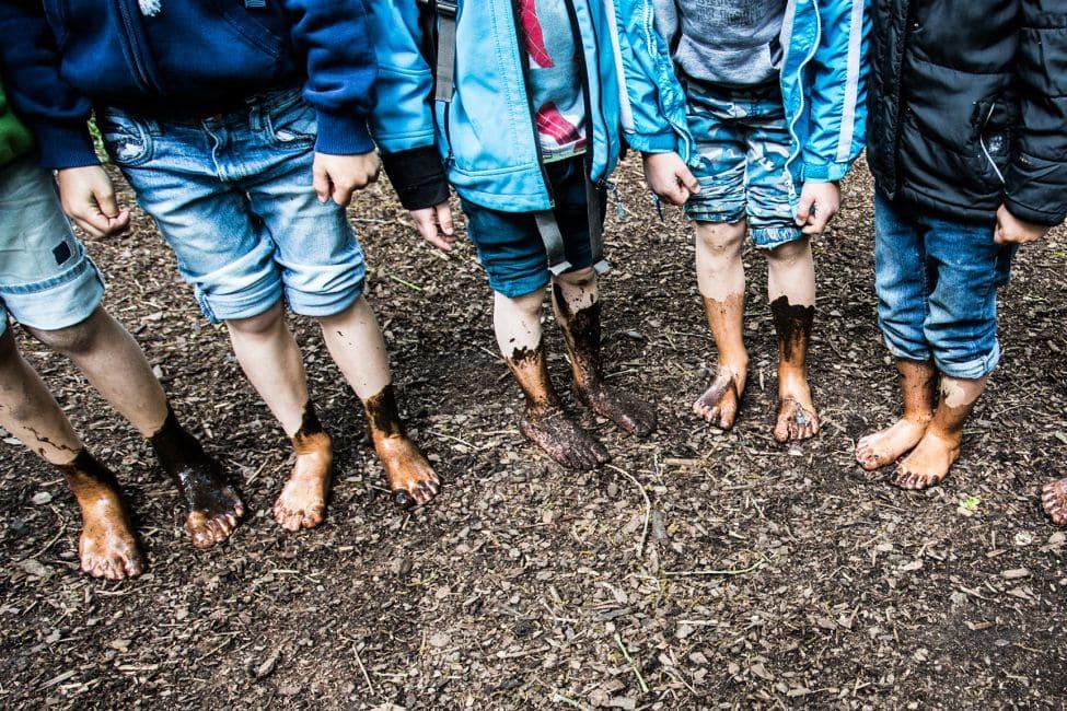 Barfußpark Beelitz Heilstätten Geburtstag Kindergeburtstag