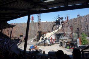 Filmpark Babelsberg Potsdam Stuntshow