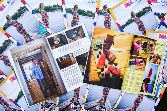 POLA Magazin Potsdam mit Kind