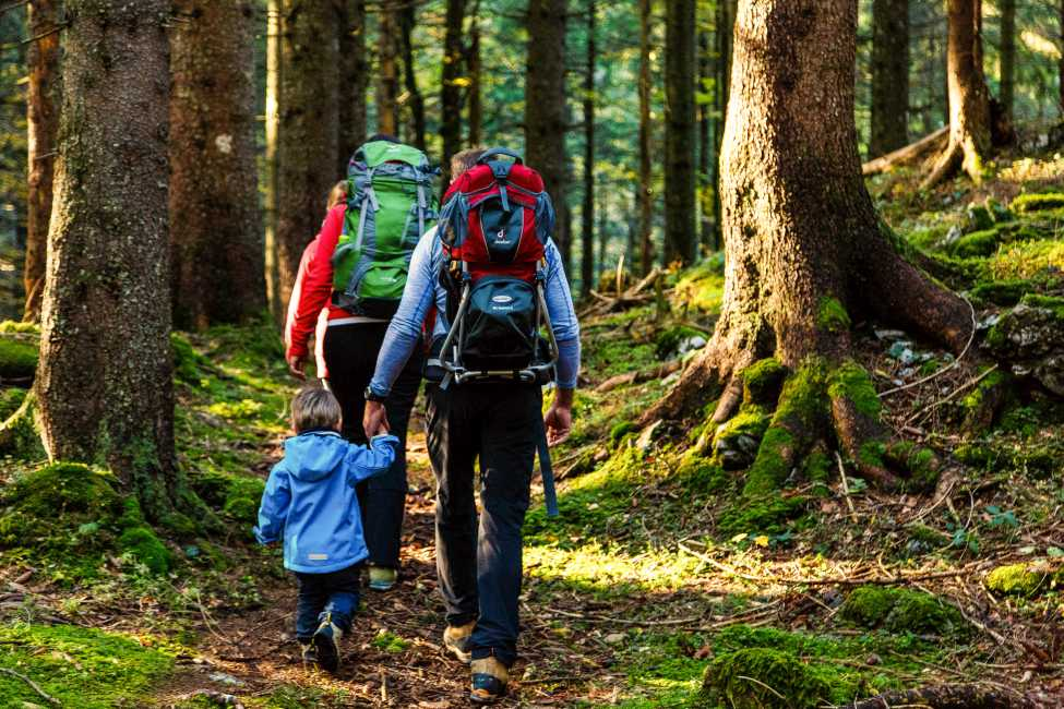 Chiemgau Karte Wandern Familienurlaub Urlaub