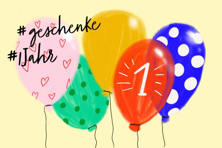 Geschenk Zum 1 Geburtstag Gesucht Ideen Für Jungen Und Mädchen