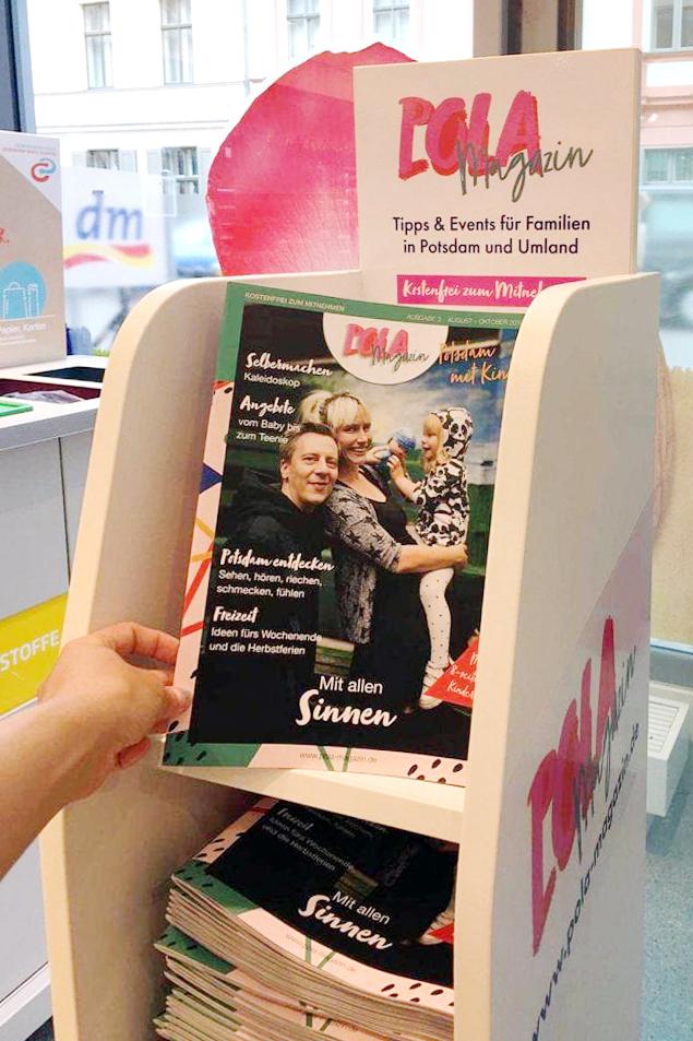POLA Magazin dm Familienmagazin Potsdam