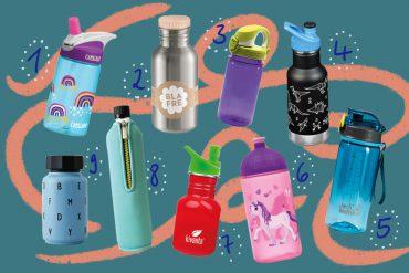 BPA-freie Kinder-Trinkflaschen