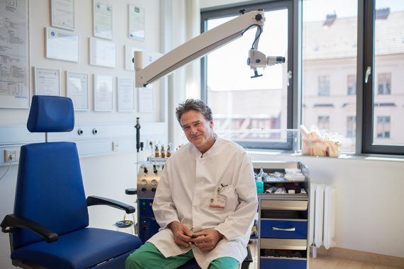 Mittelohrentzündung bei Kindern Arzt Krankhaus