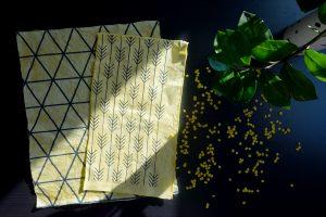 Diy Nachhaltigkeit Tuch Bienenwachs