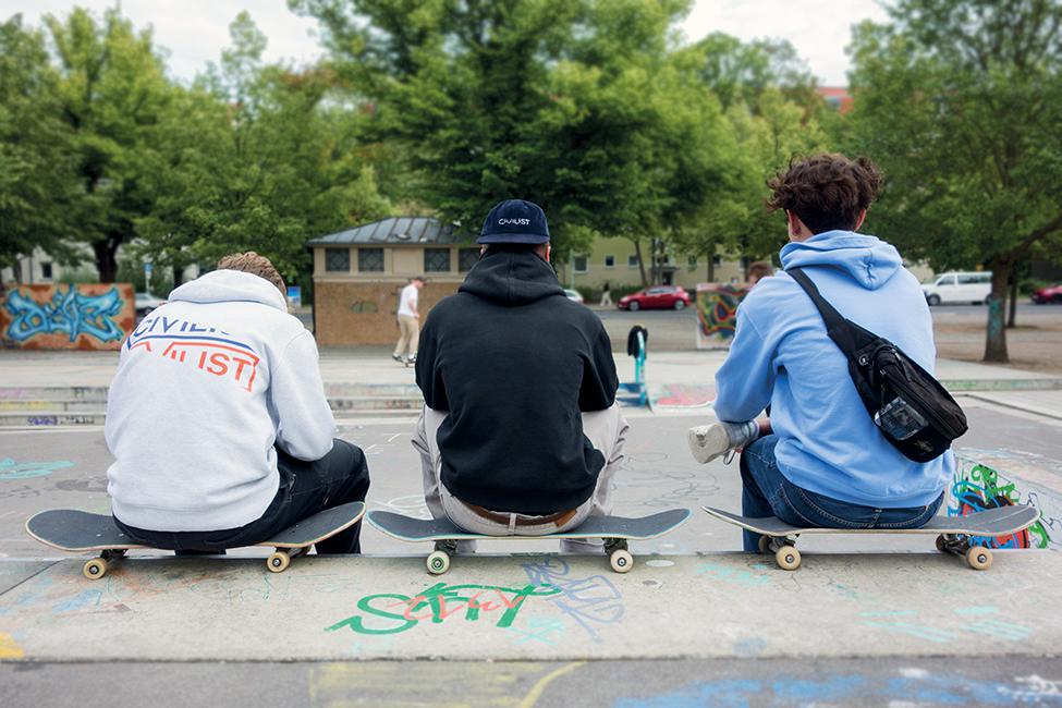 Jugend Potsdam Skaten