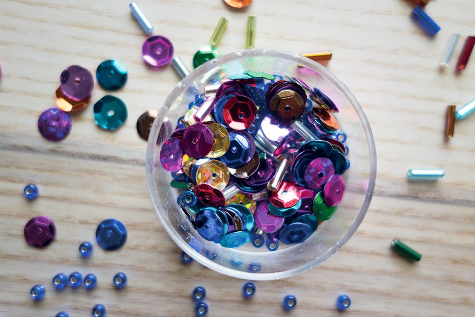 Kaleidoskop selber machen Kinder DIY