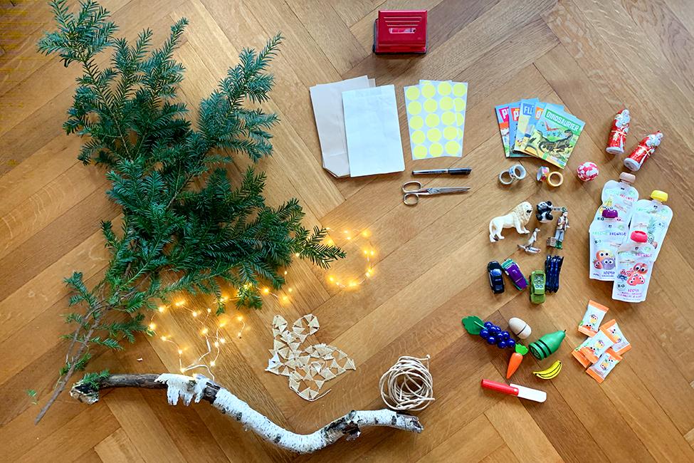 adventskalender basteln kinder advent geschenke