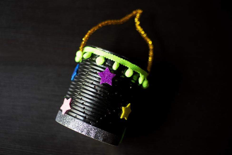Upcycling Laterne basteln aus Konservendosen