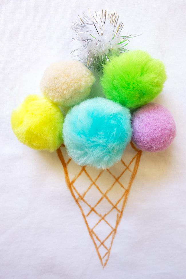 Eis Kostüm für Kinder Fasching Karneval