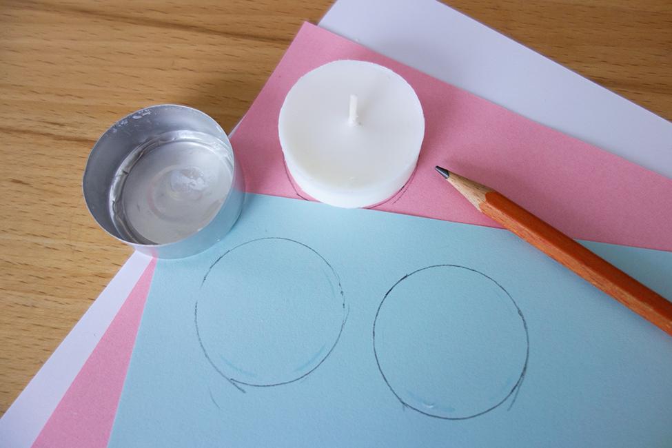 Adventskalender DIY Selbermachen Teelicht