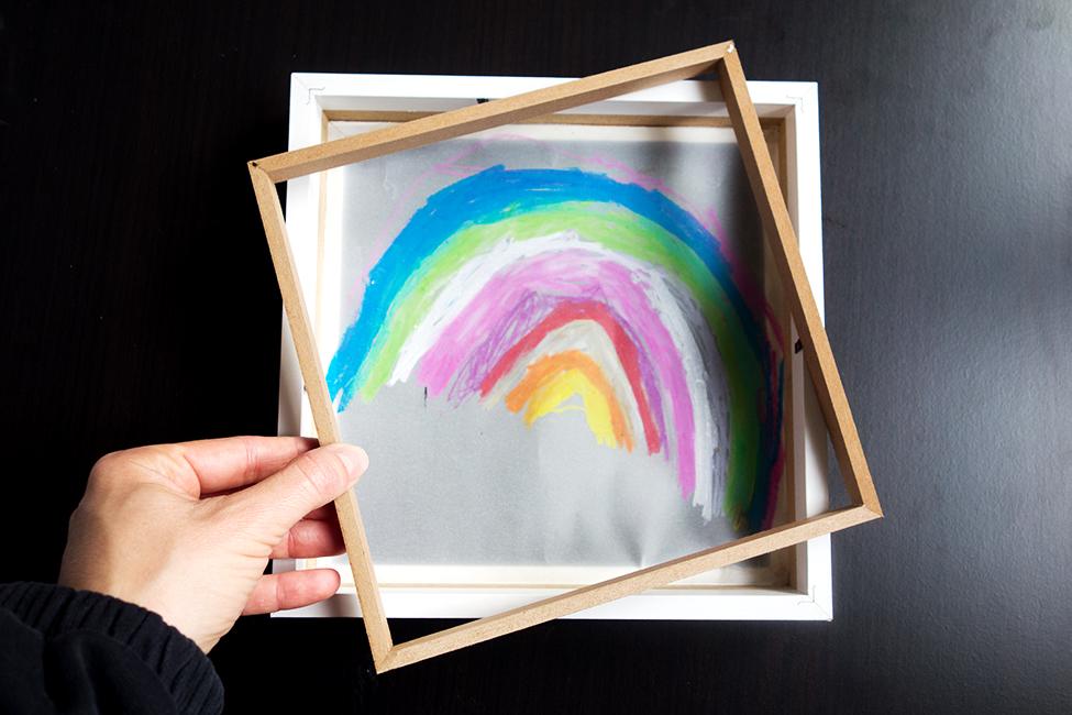 Leuchtbild für das Kinderzimmer DIY