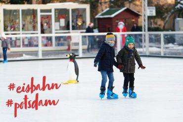Eisbahn Potsdam Schlittschuhlaufen