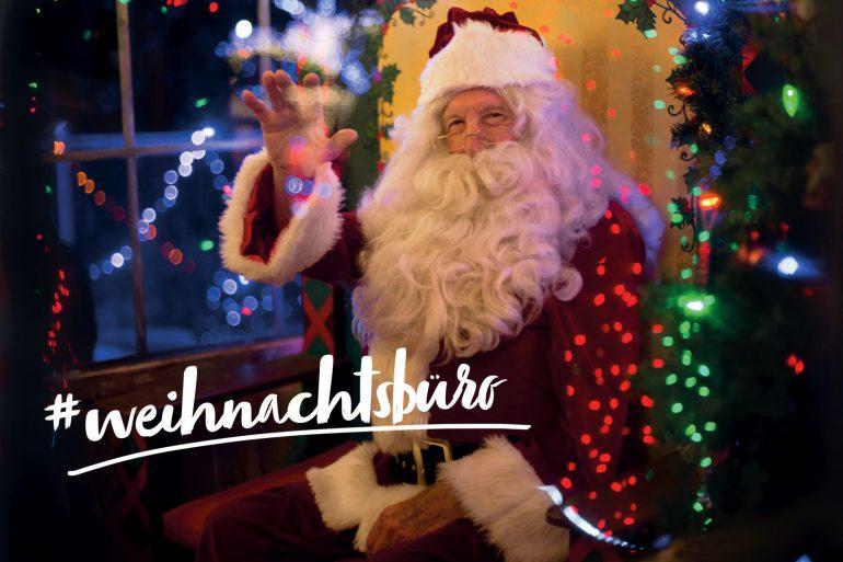 weihnachtsbüro weihnachten weihnachtsmann mieten