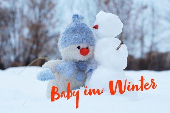 baby im winter pflege kleidung
