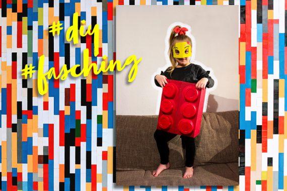 diy lego kostüm kinder fasching