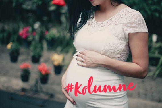 schwangerschaft schwanger kolumne