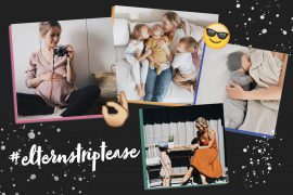 Anna von apinchofstyle #elternstriptease Eltern Familie Interview
