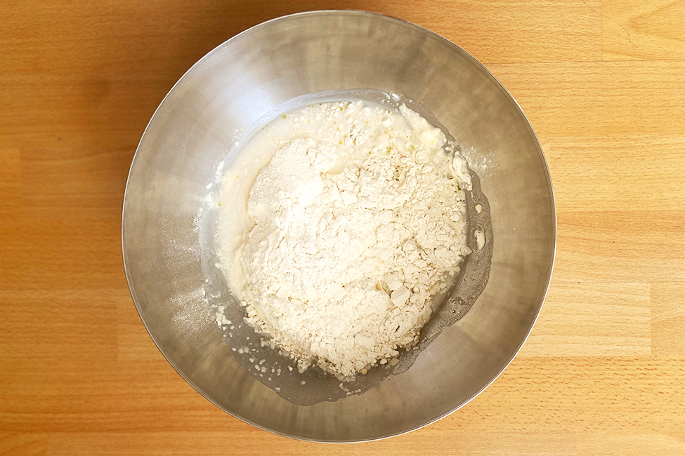 Bazlama türkisches rezept Fladenbrot Abendessen