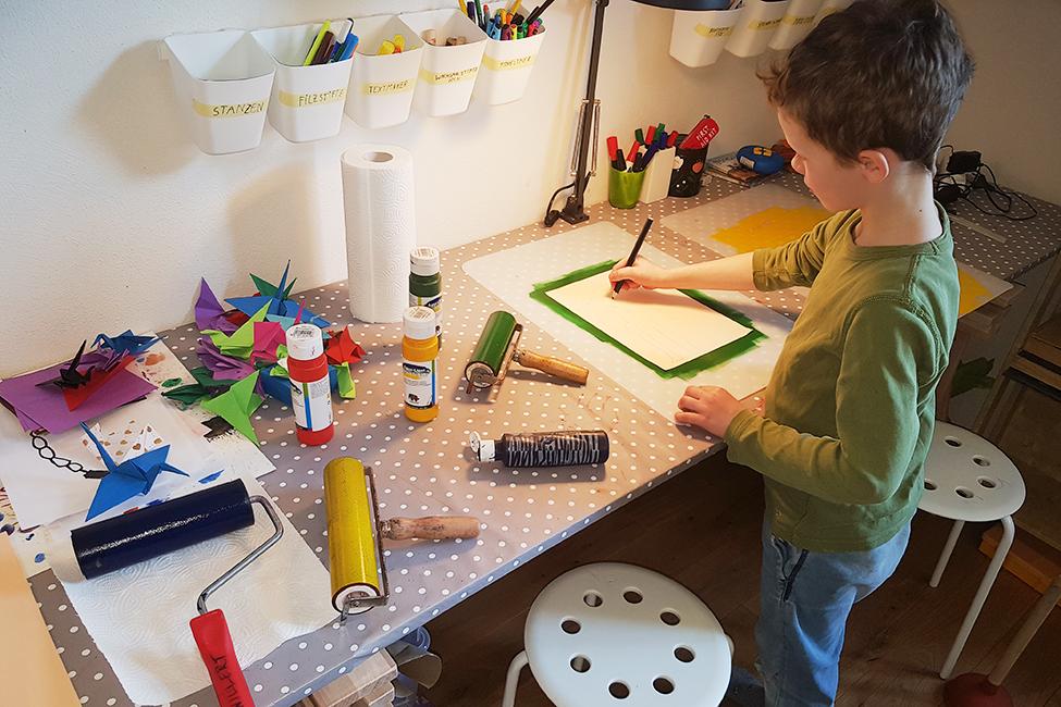 Homeschooling Kinder Schüler Unterricht Corona