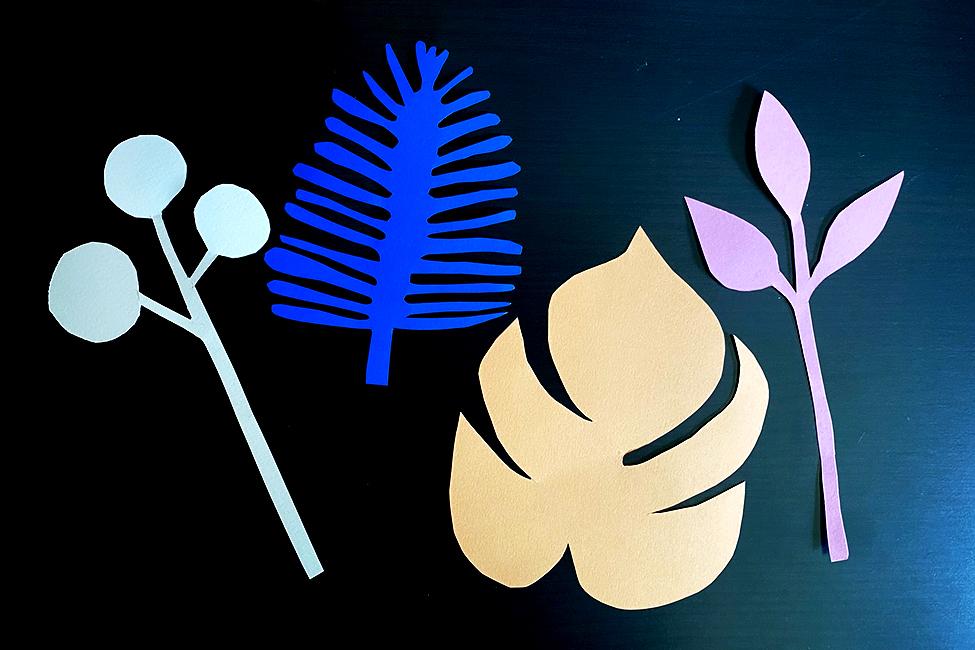DIY Muttertag Blumen Papier