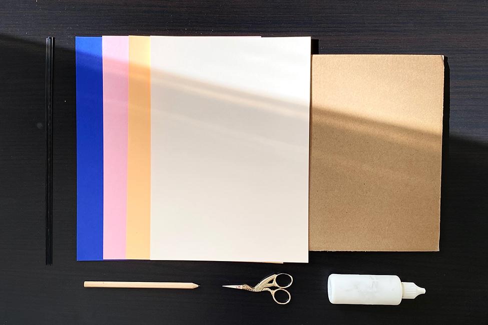 Papier basteln DIY Muttertag