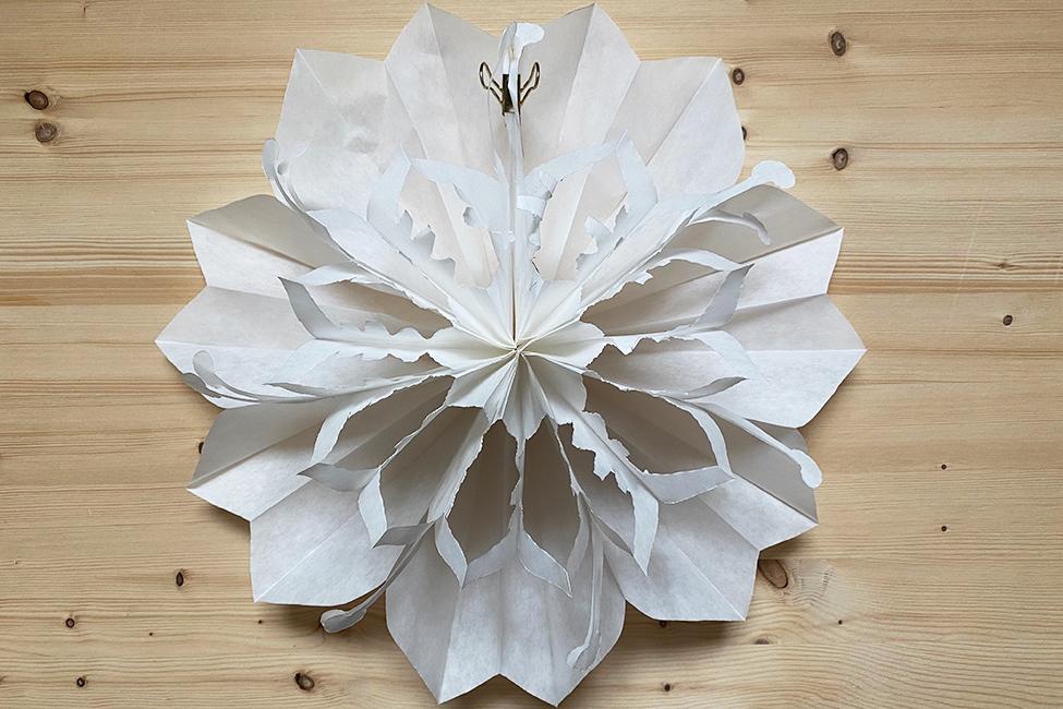 Papier basteln DIY Kinder